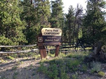 Parry Peak Campground