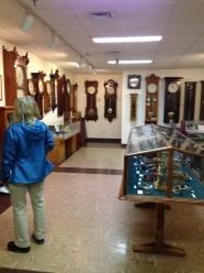 Visited the Clock Museum in Bristol.